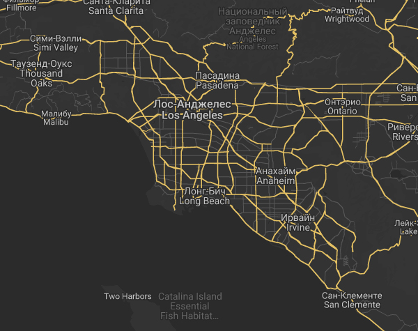 США, Лос-Анджелес, Калифорния